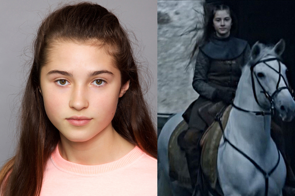 "Cordelia as Lyanna Stark ""GAME OF THRONES - SEASON 6"""