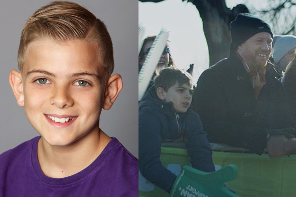 Sam featured role in Television Commercial for Macmillan