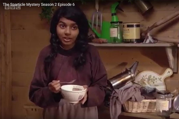 THE SPARTICLE MYSTERY, SERIES 2 – KRITIKA secures BEEKEEPER Role