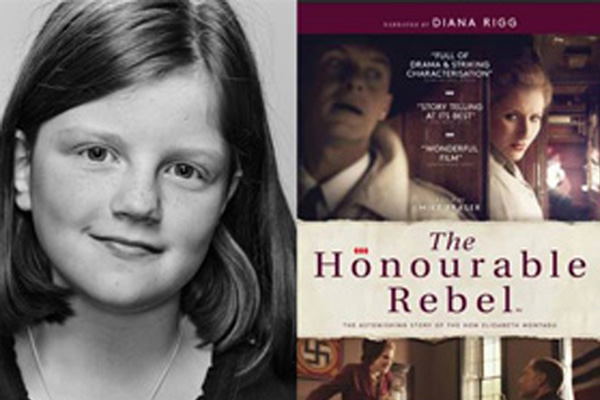 """THE HONOURABLE REBEL """"Feature Film"""" Annie as Young Elizabeth"""