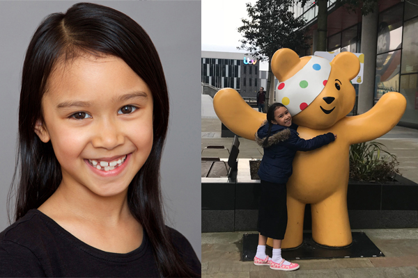 ACTRESS 'NATASHA' SECURES WORK FILMING FOR CBBC!