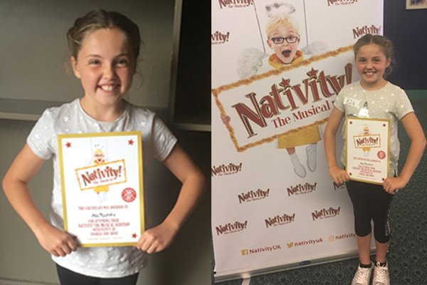 Sparkle & Shine for 'Autumn Lily' auditioning for 'Nativity! The Musical'