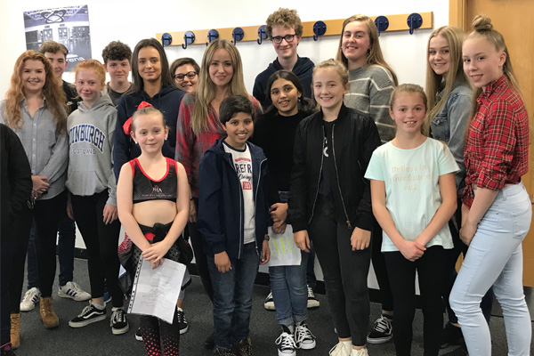 Audition Masterclass with Actress 'Sammy Winward'