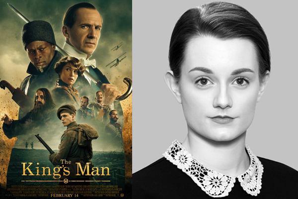 THE KING'S MAN 'FEATURE FILM' FOR 'LUCIA-JADE' CAST AS THE 'GRAND DUCHESS OLGA'